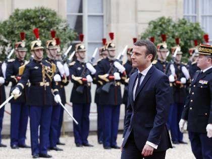 Passaggio di consegne tra Hollande e Macron