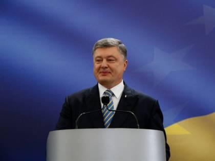 """Poroshenko: """"Faremo un'autostrada per collegare l'Ucraina alla Bulgaria"""""""
