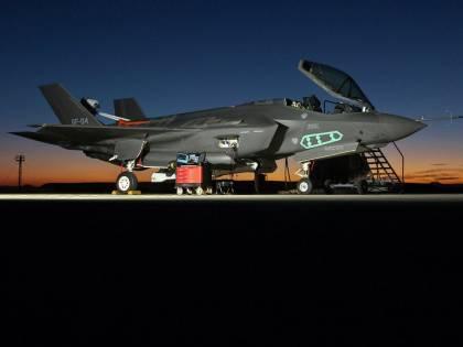 Registrati casi di ipossia, flotta F-35A messa a terra