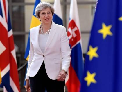 G20, Theresa May resterà seduta durante l'inno dell'Unione europea