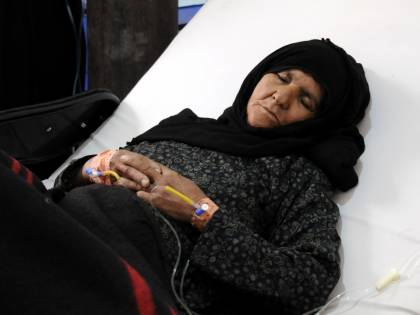 Yemen, dopo la guerra 300mila casi di colera