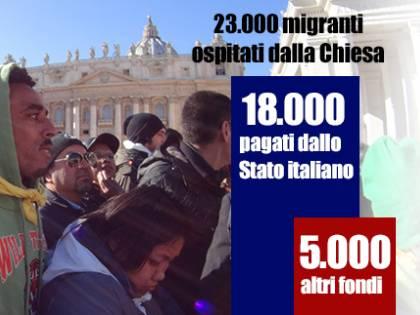 Migranti, la Cei predica accoglienza (ma la fa a spese dello Stato)