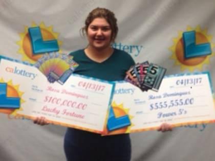 La ragazza più fortunata del mondo: vince alla lotteria due volte in una settimana