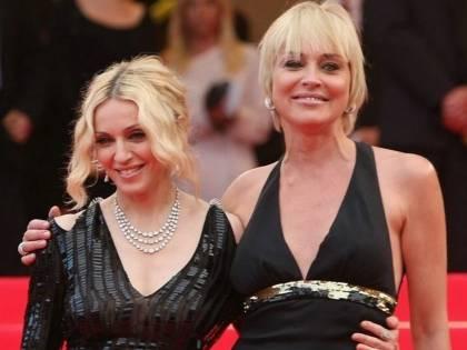 """Madonna: """"Sharon Stone è mediocre"""". La risposta dell'attrice"""