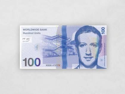 Il progetto: le banconote con i volti di Steve Jobs e Mark Zuckerberg