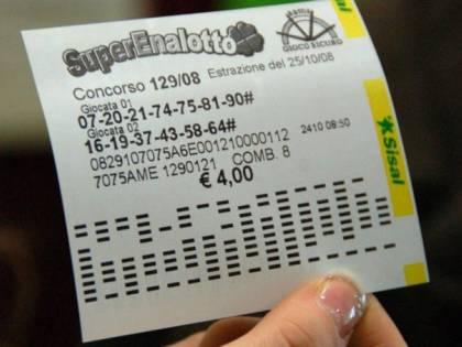 Il più alto jackpot del Superenalotto di sempre