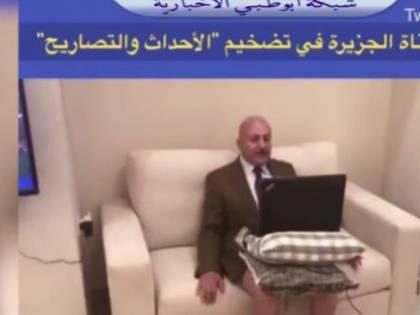"""Giordania, intervista in mutande per l'analista politico: """"Troppo caldo"""""""