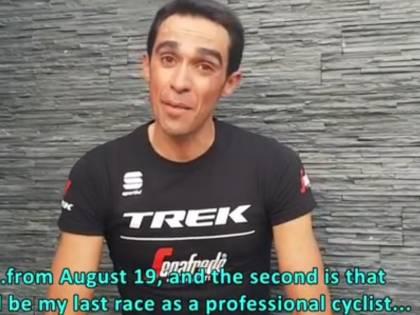 Ciclismo, a 35 anni Alberto Contador dice basta