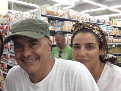 Il commissario Montalbano in vacanza con moglie e figlie
