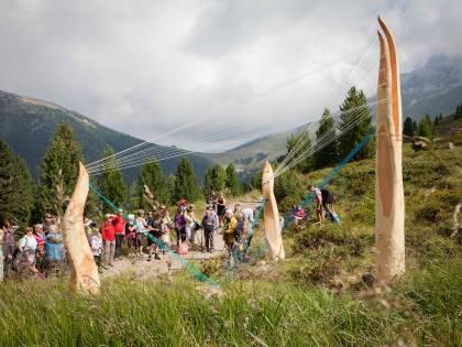 Sulle Dolomiti l'arte fa respirare la mente