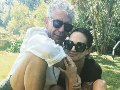 Tra Asia Argento e Anthony Bourdain è amore vero