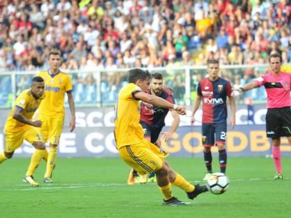 La Juventus soffre ma vince in rimonta: 4-2 al Genoa