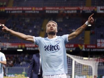 La Lazio è corsara al Marassi: Genoa ko 3-2, doppiette di Immobile e Pellegri