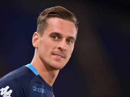 """Il Napoli conferma: """"L'infortunio al ginocchio di Milik è serio"""""""