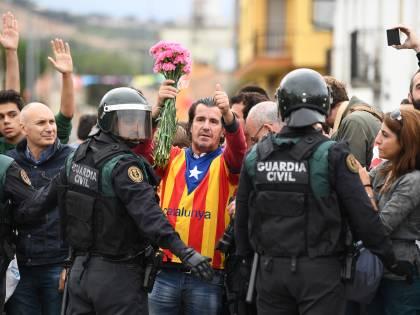 Tensioni per il voto in Catalogna