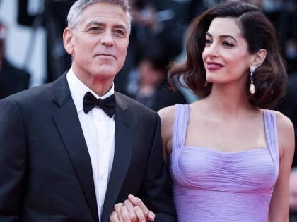Clooney, i gemelli piangono in volo:  George fa un regalo ai passeggeri