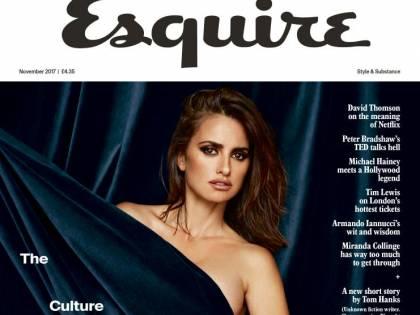 Penelope Cruz a 42 anni posa nuda per la rivista Esquire