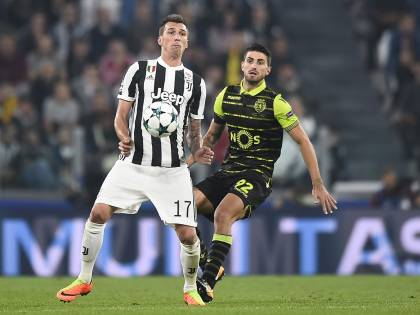 La Juventus soffre ma vince all'84: Mandzukic manda ko 2-1 lo Sporting