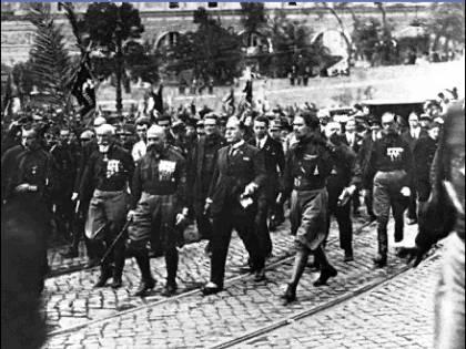 Fascismo, lo spauracchio che vede solo la sinistra