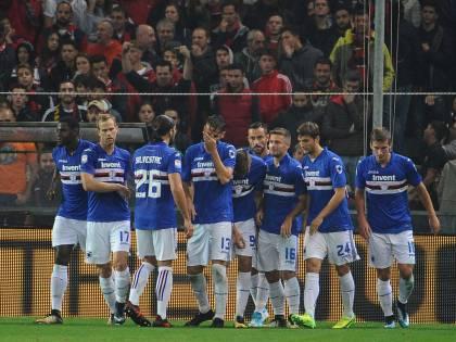 La Sampdoria manda all'inferno il Genoa: il derby della Lanterna è blucerchiato
