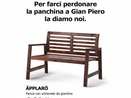 "Ikea ironizza sull'Italia: ""Ventura, la panchina te la diamo noi"""