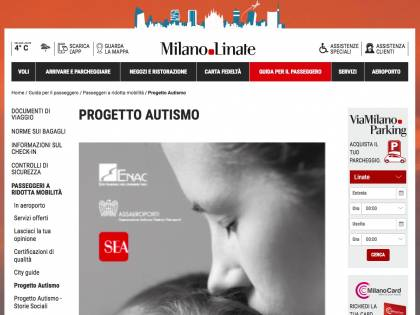 """Linate, bilancio positivo per """"Autismo, in viaggio attraverso l'aeroporto"""""""