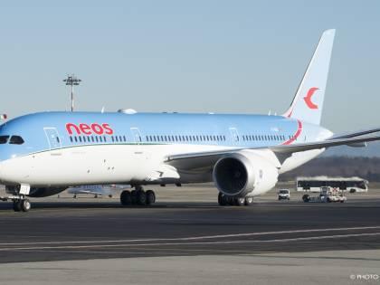 Il nuovo Dreamliner di Neos vola da Malpensa alle mete del sole d'inverno