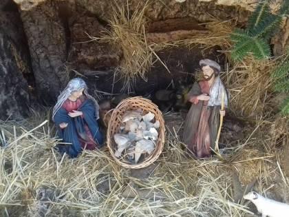 Naso, la statua di Gesù distrutta dai vandali