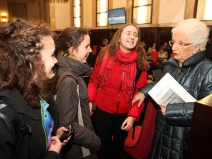 La grande commozione della comunità ebraica