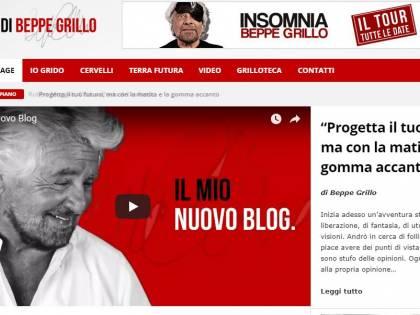 """Il M5S """"esce"""" dal blog di Grillo: contatti giù, boom di guadagni"""