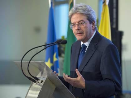 """Gentiloni: """"Dopo il 4 marzo no ad una coalizione con Berlusconi"""""""