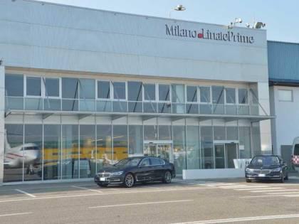 Voli business, Bmw serie 7 per i viaggiatori di Milano Linate Prime