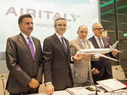 Meridiana diventa Air Italy, 50 aerei e hub a Malpensa