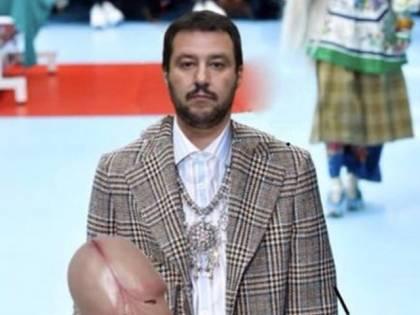 """Il prof che fa un fotomontaggio per insultare Salvini: """"Testa di c..."""""""