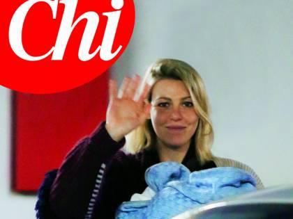 Le prime immagini di Barbara Berlusconi e il figlio Francesco Amos