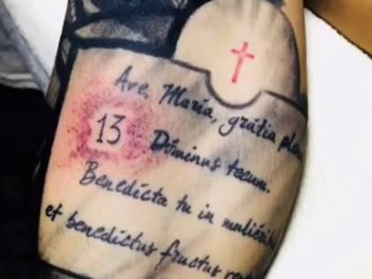 Astori, il commovente omaggio di Bernardeschi: gli dedica un tatuaggio