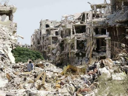 Siria, le immagini di 7 anni di guerra civile