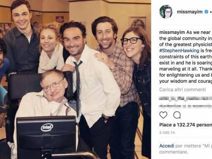 Stephen Hawking, le reazioni social alla scomparsa