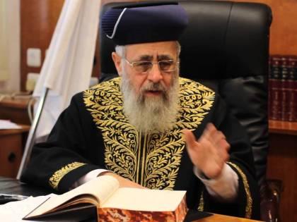"""""""I neri come le scimmie"""": bufera sul rabbino capo d'Israele"""