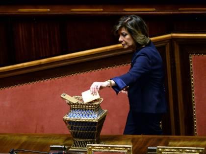 """Senato, il centrodestra ricuce """"Voteremo Maria Elisabetta Casellati"""""""