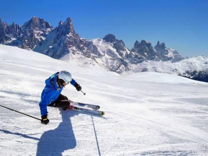 Sci e musica all'Alpe Lusia