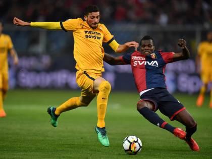Il Genoa manda al tappeto il Verona: a Marassi finisce 3-1