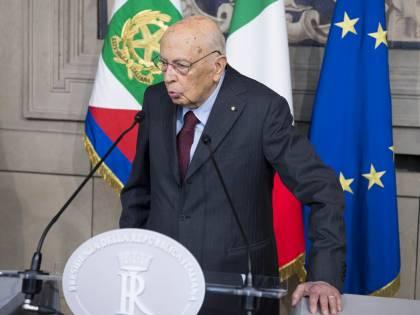 """Giorgio Napolitano assente per motivi di salute: """"Avrei votato sì al Conte-bis"""""""