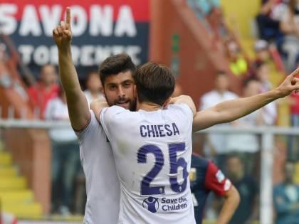 La Fiorentina batte in rimonta il Genoa e dedica la vittoria a Capitan Astori
