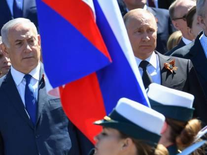 Netanyahu al fianco di Putin