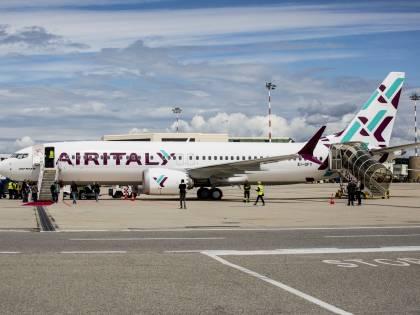 Air Italy vola nel futuro, a Malpensa atterrato il nuovo Boeing 737 Max