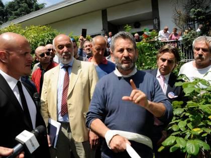 La resistenza dell'imprenditore Bramini sotto sfratto