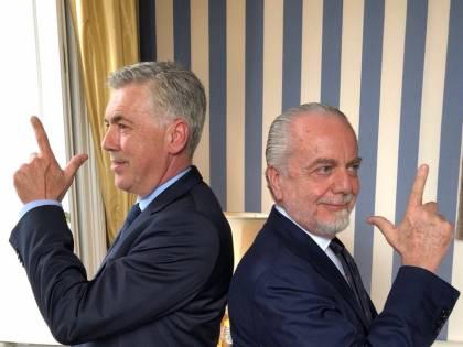 """Napoli, Ancelotti a De Laurentiis: """"Sicuro di volermi esonerare?"""""""
