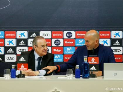 Zidane lascia il Real Madrid