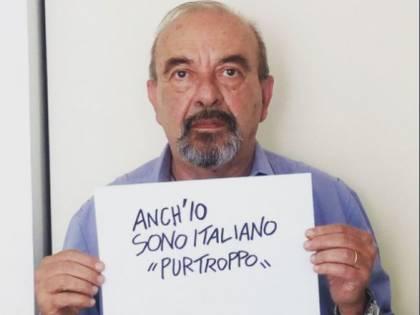 """Vauro: """"Purtroppo sono italiano"""". Raffica di insulti su Twitter"""